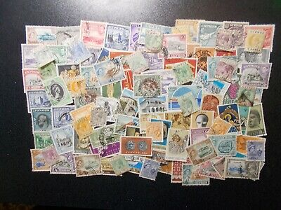 Quality Packet of 100 Different Vintage Cyprus Used Stamps~Collection~H~UK