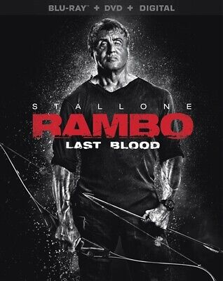 PREORDER DEC 17 RAMBO LAST BLOOD New Sealed Blu-ray + DVD Sylvester Stallone