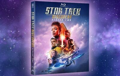 Star Trek: Discovery - Complete Season 2 (Blu-ray) with case
