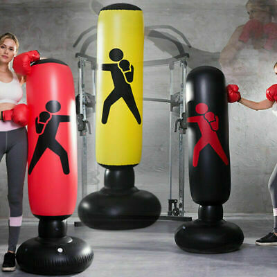 Hot Children Kids Adult Free Standing Boxing Punch Bag Play Toy Xmas Gift