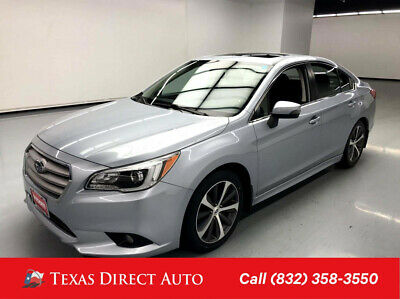 2015 Subaru Legacy 2.5i Limited Texas Direct Auto 2015 2.5i Limited Used 2.5L H4 16V Automatic AWD Sedan