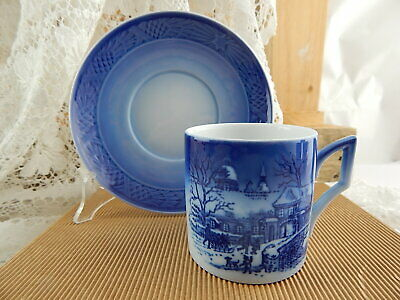 Royal Copenhagen Tazza Natale 1995 Porcellana First Factory Nuova Con Scatola