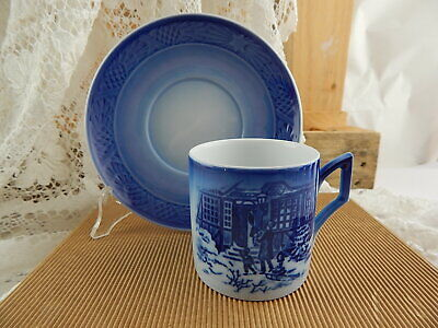 Royal Copenhagen Tazza Natale 1994 Porcellana First Factory Nuova Con Scatola