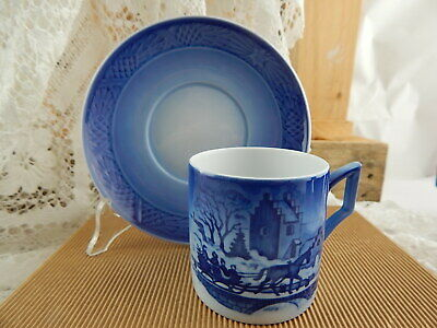 Royal Copenhagen Tazza Natale 1999 Porcellana First Factory Nuova Con Scatola