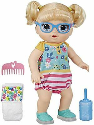 Baby Alive Step 'N Giggle Baby Blonde Hair Doll with Light-Up Shoes, Responds