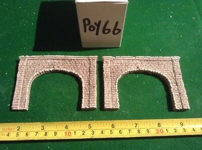 2x Cut Stone  tunnel -n scale gauge- - Twin Track