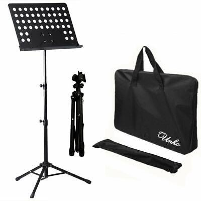 Malayas Heavy Duty Conductor Orchestral Sheet Music Stand Tripod Base Folding...