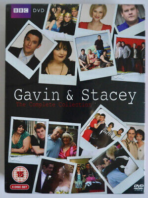 Gavin & Stacey The Complete Collection Dvd Box Set (6 Discs) Xmas Special *New*