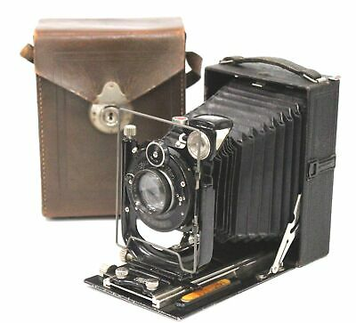 ZEISS IKON Folding Camera With Compur Dominar-Anastigmat 135mm f/4.5 Lens  - K20