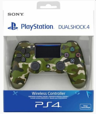 PS4 DualShock 4 Controller Wave V2 BRAND NEW SEALED (Green Camo)Sony & UK