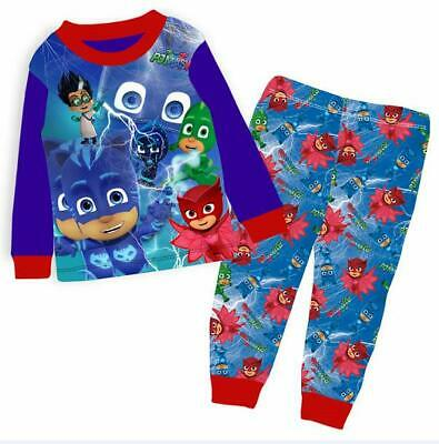 Boys Kids PJ Masks Long Sleeve Pyjama Set