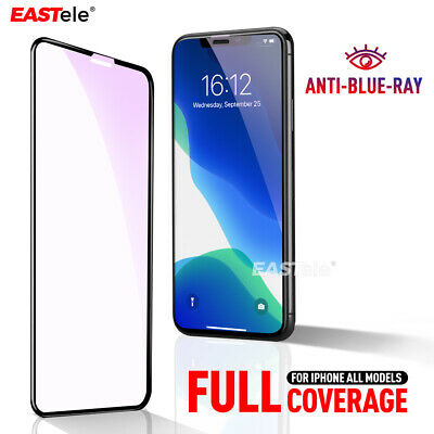 2x Apple iPhone 11 Pro XS Max XR 8 Plus EASTele Screen Protector Tempered Glass