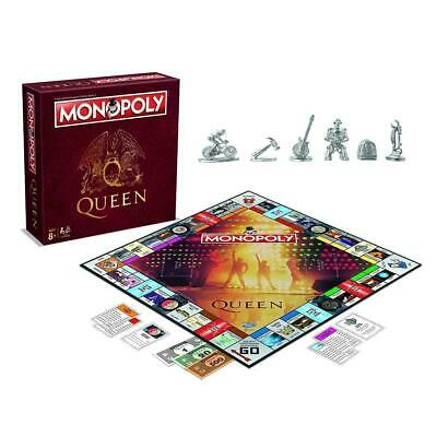 31719 Queen Collectors Edition Monopoly The Fast Dealing Property Board Game