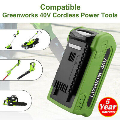 40V G-MAX 2.5Ah Replace Lithium Battery for GreenWorks 29462 29252 20202 22262