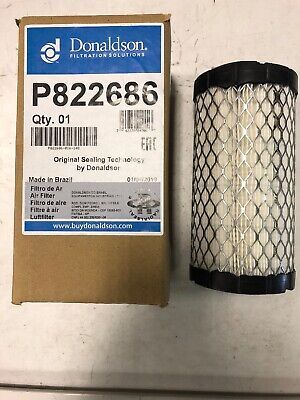 G042544 /& P777151 DONALDSON Air Cleaner w// band and filter JLG # 1340057