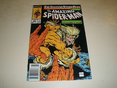 Marvel Comics AMAZING SPIDER-MAN #324 TODD MCFARLANE ART NEWSSTAND VARIANT