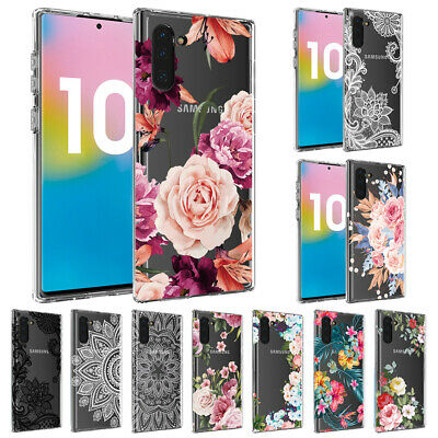 Clear Slim Soft Silicone Painted TPU Case Cover For Samsung Galaxy Note 10 Plus