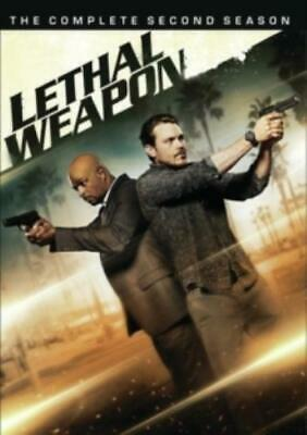 LETHAL WEAPON: THE COMPLETE SECOND SEASON (Region 1 DVD,US Import,sealed.)