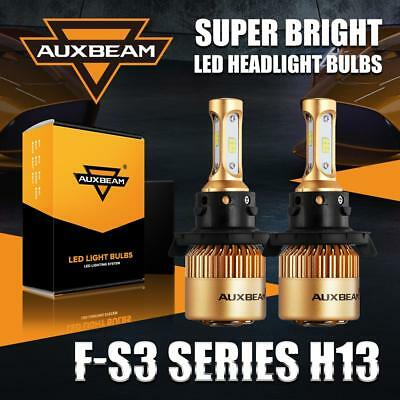 Auxbeam H13 9008 72W CSP LED Headlight Bulbs High Low for Ford F-150 2004-2014