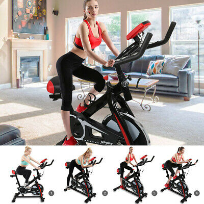 Stationary Bicycle Cycling Fitness Gym Exercise Bike Cardio Workout Home Indoor