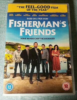 FISHERMAN'S FRIENDS DVD VGC James Purefoy Tuppence Middleton Cornwall