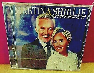 Martin & Shirlie  'In The Swing Of It'  Cd (2019)  Brand New & Sealed