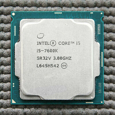Intel Core i5 7600K 7600 K Processor CPU 3.8 GHz LGA1151