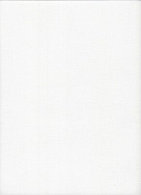27 count Zweigart Linda Evenweave Cross Stitch Fabric Antique White 49 x 69cms