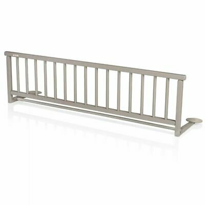 Baninni Bed Rail Guard Cot Bed Safety Child Toddler Rocco Grey Wood BNBTA015-GY#