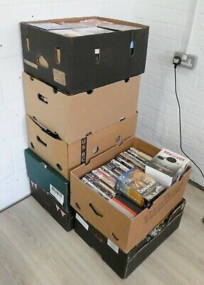 Job Lot approx 500 Dvd's / Box Sets - Can Be Pallet Delivery, Ask For A Price