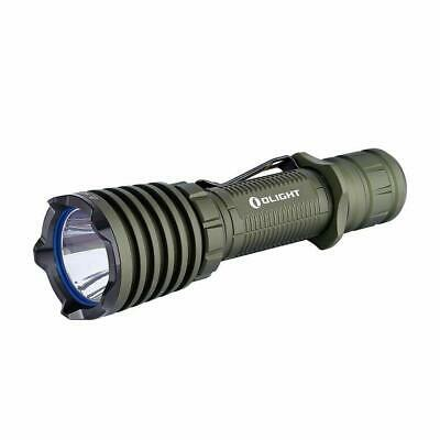 Olight Warrior X Rechargeable Tactical Flashlight 2000 Lumens, OD Green, NEW