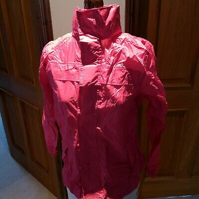 Girls Rain Coat / Pac A Mac / Age 9 / 10 Years / Trespass / Brand New With Tags