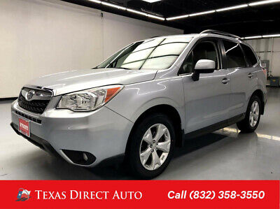 2015 Subaru Forester 2.5i Limited Texas Direct Auto 2015 2.5i Limited Used 2.5L H4 16V Automatic AWD SUV