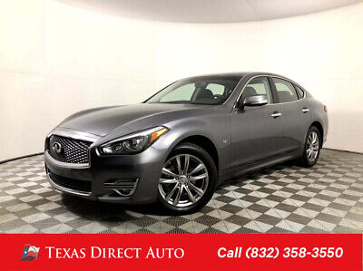 2019 Infiniti Q70 3.7 LUXE Texas Direct Auto 2019 3.7 LUXE Used 3.7L V6 24V Automatic AWD Sedan Premium
