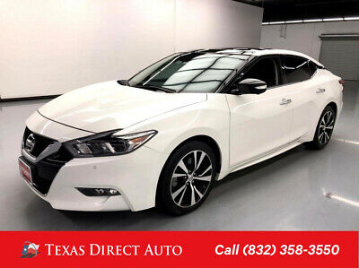 2018 Nissan Maxima Platinum Texas Direct Auto 2018 Platinum Used 3.5L V6 24V Automatic FWD Sedan Bose
