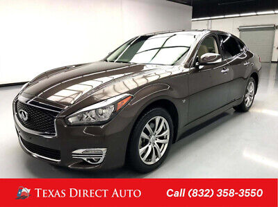 2016 Infiniti Q70 3.7 Texas Direct Auto 2016 3.7 Used 3.7L V6 24V Automatic AWD Sedan Premium