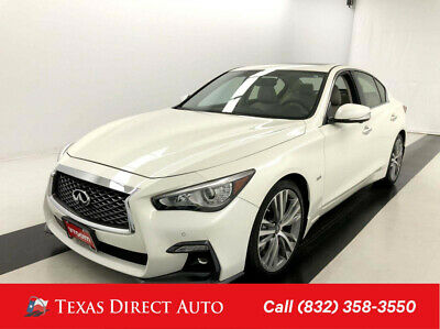 2019 Infiniti Q50 3.0t SPORT Texas Direct Auto 2019 3.0t SPORT Used Turbo 3L V6 24V Automatic RWD Sedan Bose