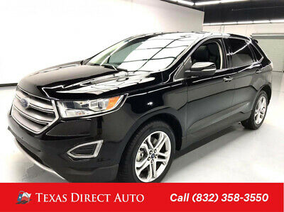 2017 Ford Edge Titanium Texas Direct Auto 2017 Titanium Used 3.5L V6 24V Automatic FWD SUV Premium