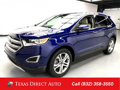 2015 Ford Edge Titanium Texas Direct Auto 2015 Titanium Used 3.5L V6 24V Automatic FWD SUV Premium