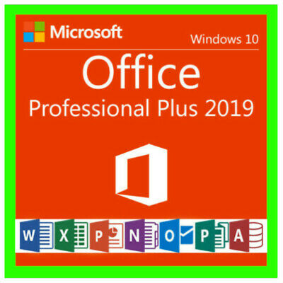 🔥ms office 2019 professional plus ⚡Fast Delevery⚡(2min) Paypal 1Pc License Key