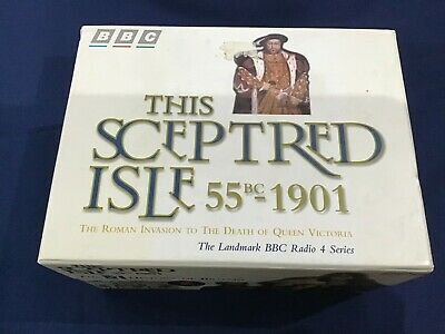 This Sceptred Isle 55BC-1901 BBC Radio Collection of 10 Sets Cassettes L3746