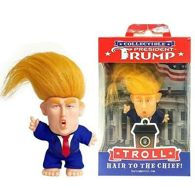 President Donald Trump Collectible Troll Doll Make America Great Again Figure Yk