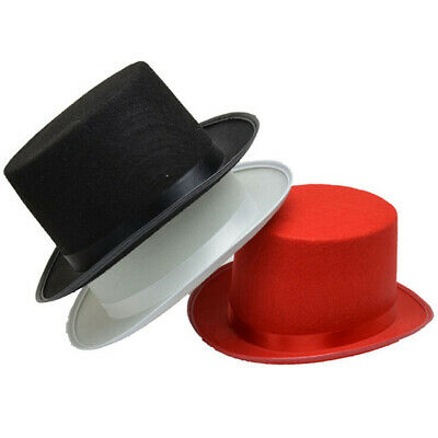 1Pc Deluxe Top Hat Magician Costume Mat Hatter Wedding Christmas Party F Np