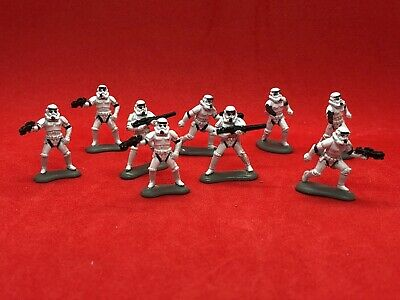Star Wars Micro Machines Stormtrooper Figure Set Loose Complete