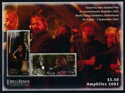[H21075] New Zealand 2002 LORD OF RINGS Good sheet very fine MNH