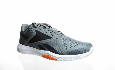 Reebok Mens Flexagon Force 2.0 Cold Grey/Black/Fieora Running Shoes Size 10.5