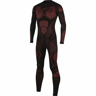 Alpinestars Ride Tech Summer 1-Piece UnderMotorcycle Suit - Blk/Red, All Sizes
