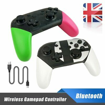 Wireless Bluetooth Pro Controller Gamepad For Switch Super Smash Bros Stablely