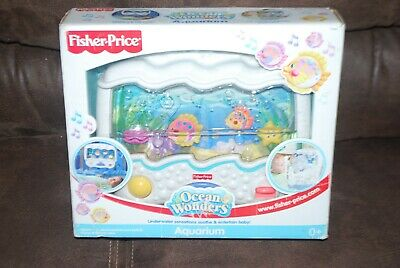 Fisher Price Ocean Wonders Aquarium Baby Crib Soother with Sound And Lights