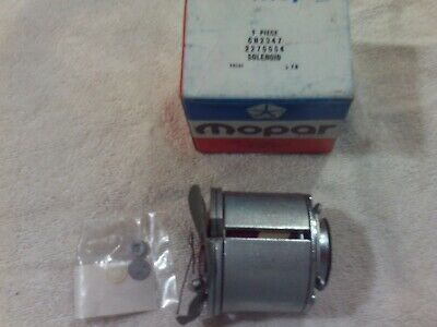 NOS 1962-1972 Mopar 2275554 Solenoid Pkg Gear Reduction Starter 170-440 + Hemi